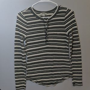 Lucky Brand striped long sleeve